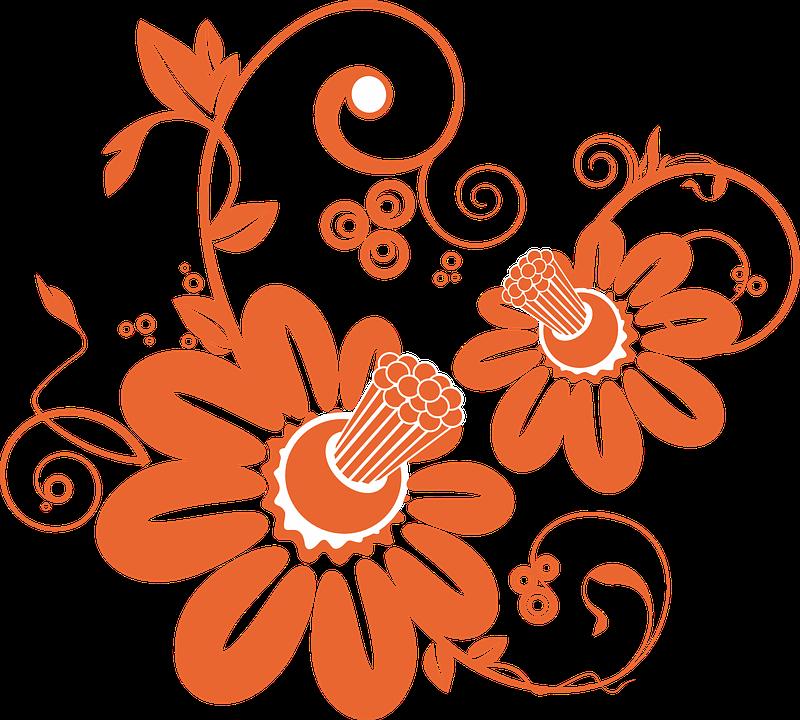 Bunga Pola Gambar Vektor Gratis Di Pixabay