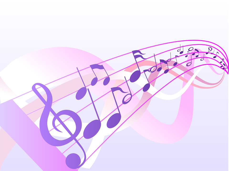 image vectorielle gratuite musique  notes  r u00e9sum u00e9  clef Musical Notes Vector Art Music Notes Vector Art Free