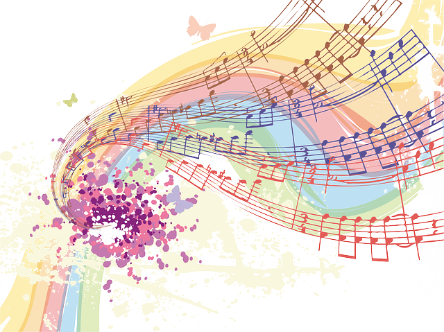 Free Vector Graphic: Music, Notes, Abstract
