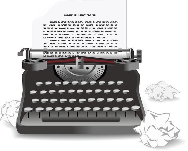 Free Vector Graphic Typewriter Antique Old Machine