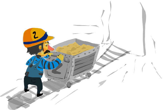 free vector graphic  miner  man  person  worker  work - free image on pixabay