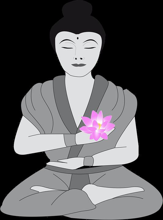 Free Vector Graphic Buddha Woman Buddhist Female Free Image On Pixabay 159992
