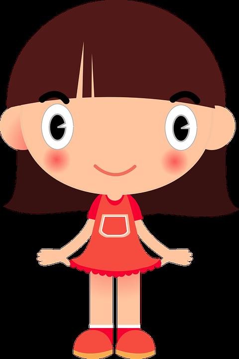 Vector gratis ni a celebraci n ni o feliz imagen - Cartoon girl images hd ...