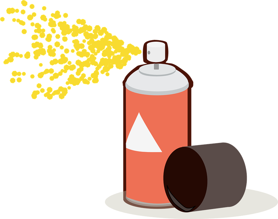 aerosol can spray free vector graphic on pixabay rh pixabay com graffiti spray can vector spray can cap vector