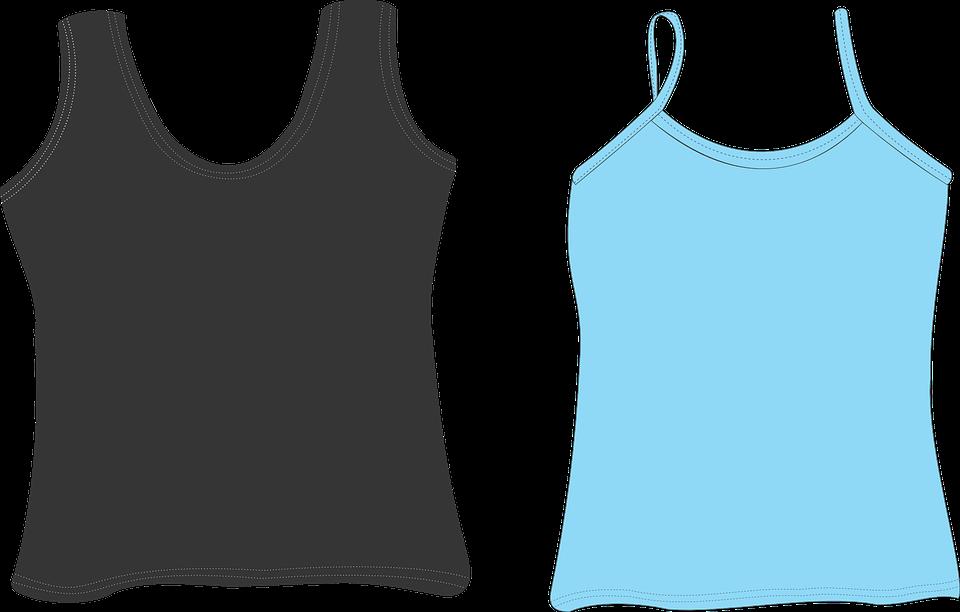 Free vector graphic: Undershirt, Vest, Shirt, Clothing ...