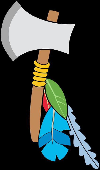 Yxa, Indian, Verktyg, Vapen