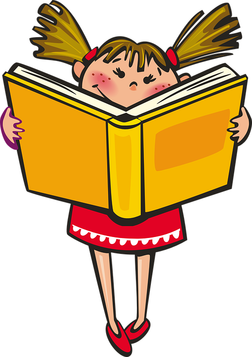 girl with books free clip art - photo #18