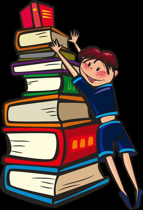 Gadis Buku Sekolah \u00b7 Gambar vektor gratis di Pixabay