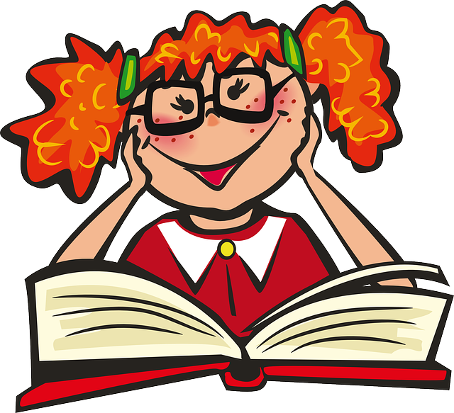 Girl Book School · Free vector graphic on Pixabay