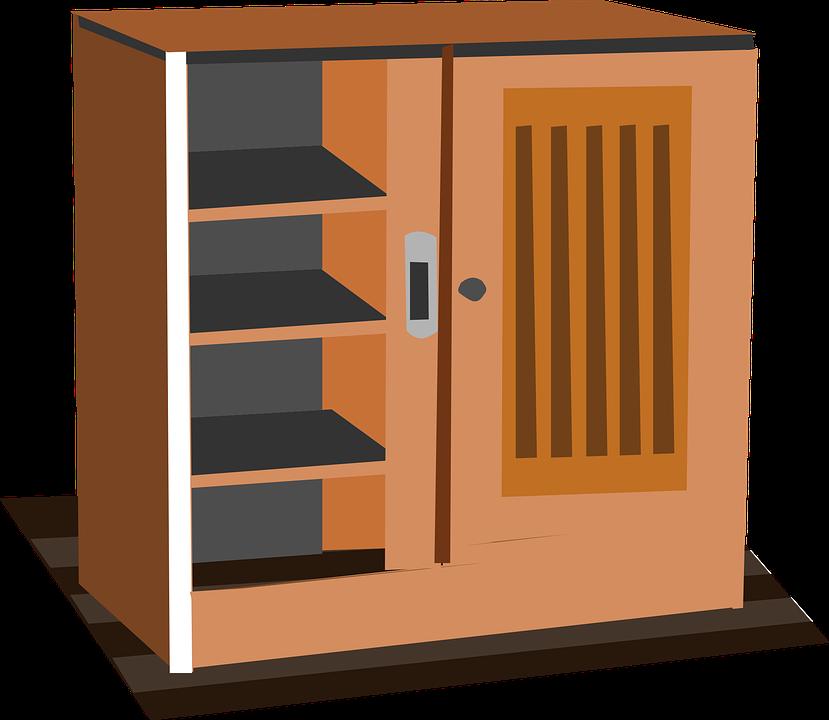 Gabinete Armario Muebles · Gráficos vectoriales gratis en Pixabay