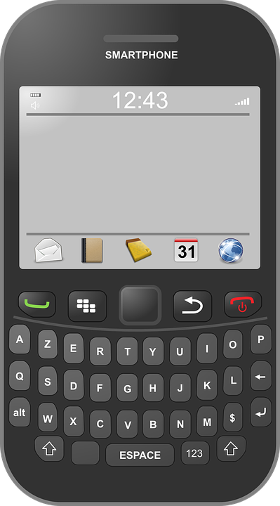 Smartphone, Blackberry, Cell, Cellphone