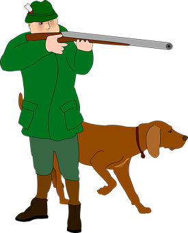 Hunter, Rifleman, Fighter, Huntsman, Dog