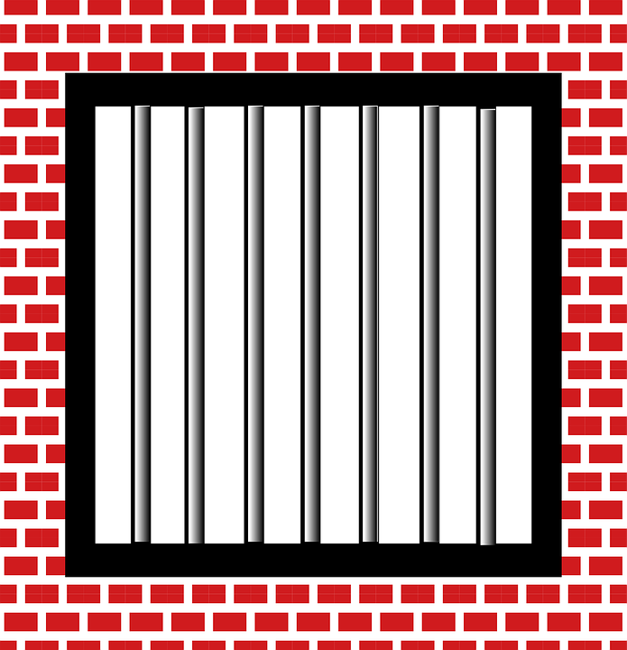 Jail Bars Police · Free vector graphic on Pixabay