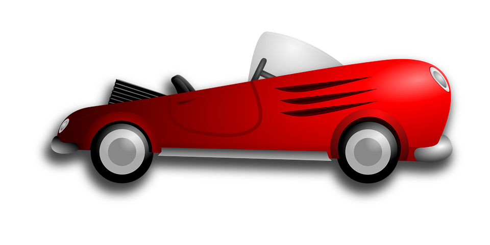 Kostenlose Vektorgrafik: Auto, Rot, Fahrzeug, Automobil ...