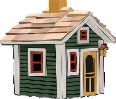 Cottage, House, Home, Building, Little