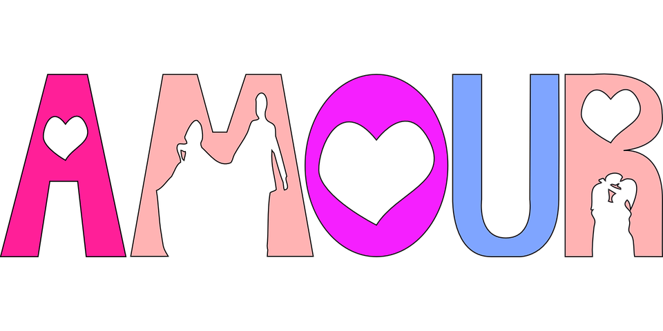 Top Free vector graphic: Love, Amour, Text, Font - Free Image on  CR12