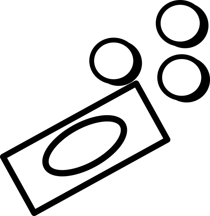 Картинка монетки черно-белая