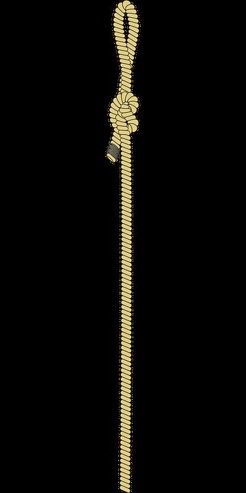 Kostenlose Vektorgrafik Schnur Seil String Halteseil
