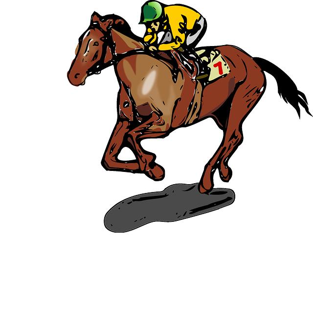 Free Vector Graphic Horse Jockey Race Sports