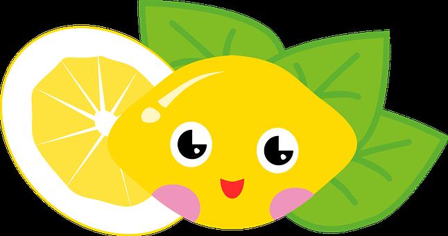 Citron, Ovoce, Kyselý, Citrus, Obličej