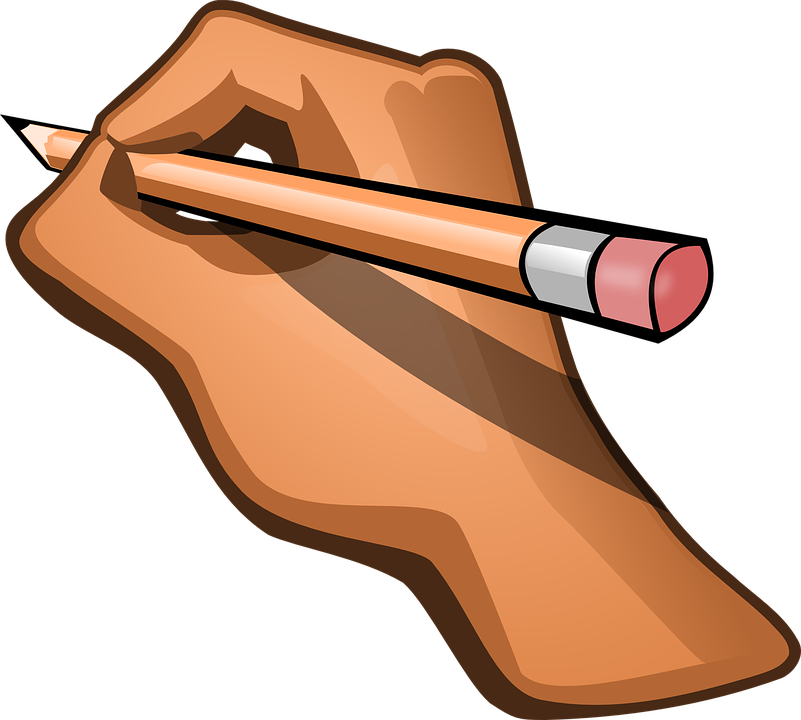 Hand Pencil Pen Free Vector Graphic On Pixabay Similar with hand with pen png. hand pencil pen free vector graphic