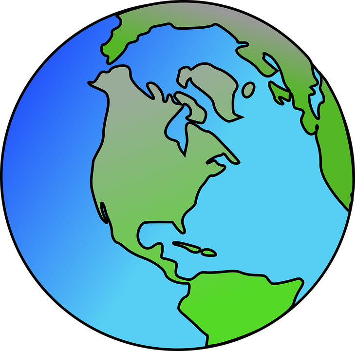 North America World Continents · Free vector graphic on ...