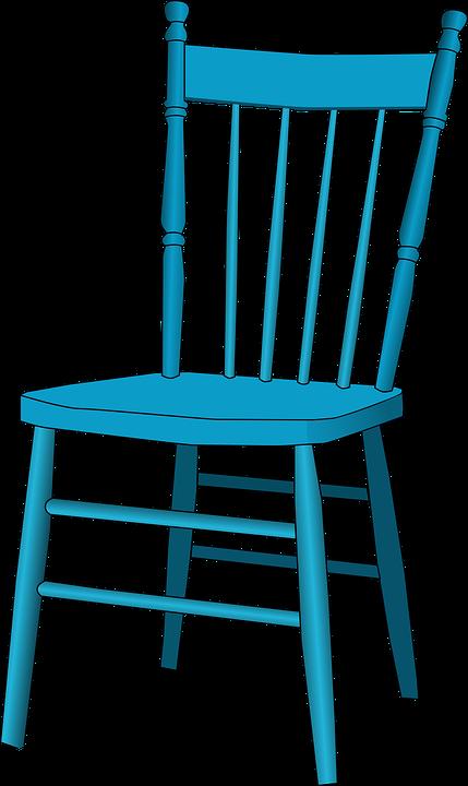 Silla Azul Antiguos · Gráficos vectoriales gratis en Pixabay