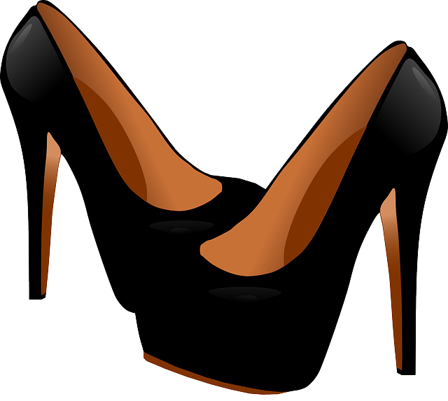 free vector graphic heels shoes black fashion free. Black Bedroom Furniture Sets. Home Design Ideas