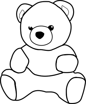 600 Free Toy Bear Vectors Pixabay