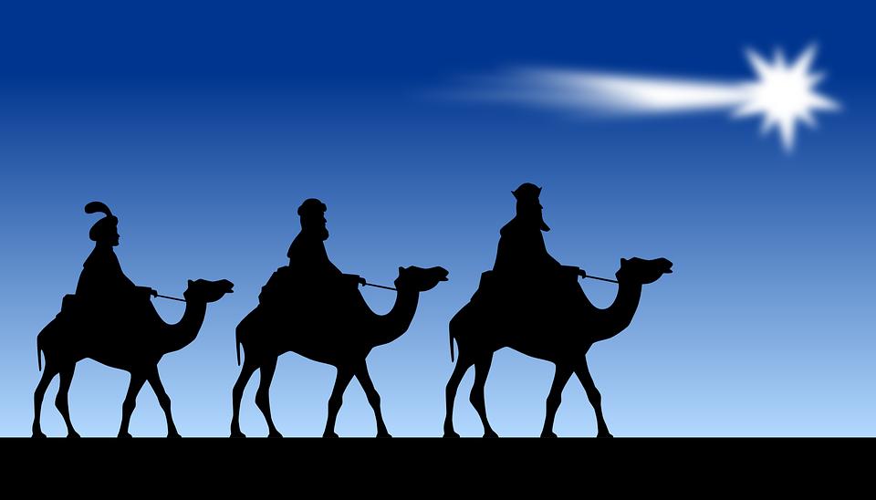 Los Tres Reyes Magos Gráficos Vectoriales Gratis En Pixabay