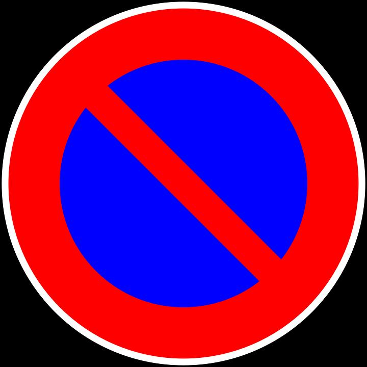 4ce15a3b2 Zákaz Parkovania Dopravná Značka - Vektorová grafika zdarma na Pixabay