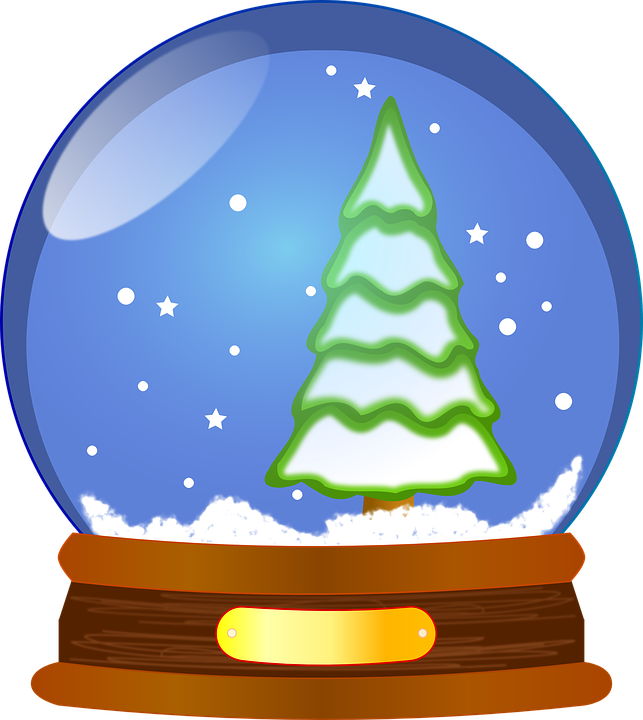 Snow Globe, Waterglobe, Snowstorm