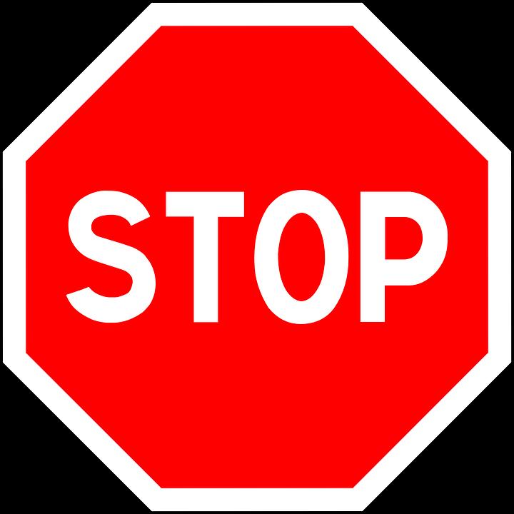停止 記号 道路標識 · Pixabayの...