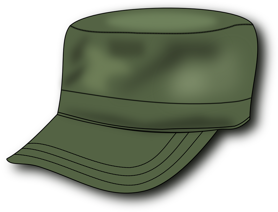 Free Vector Graphic Army Hat Military Soldier Green