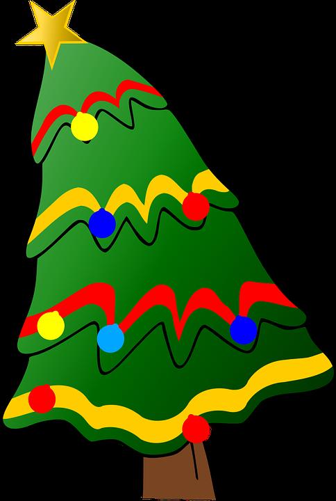 Výsledek obrázku pro vánoční stromeček kreslený