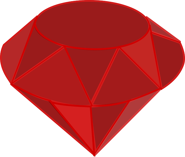 Gemstone Red Ruby · Free vector graphic on Pixabay