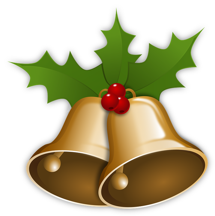 Free vector graphic: Bells, Christmas, Xmas, Holly - Free Image on ...
