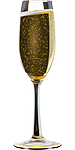 champagne, alcohol, bubble