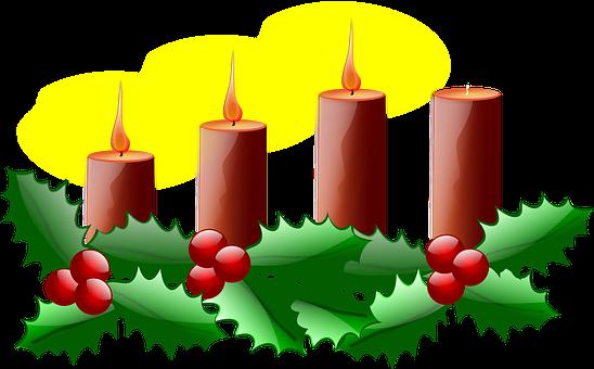 Troisième Avent, Noël, Avènement, Bougie