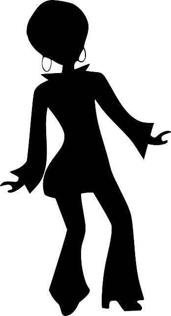 girl woman dancing  u00b7 free vector graphic on pixabay Pets Commercial Use Microsoft Clip Art Commercial Use