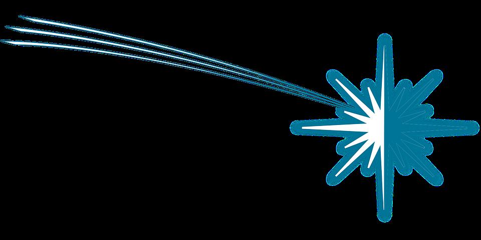 Vector gratis navidad estrellas cometa imagen gratis for Estrella fugaz navidad