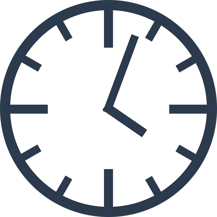 clock day hour free vector graphic on pixabay