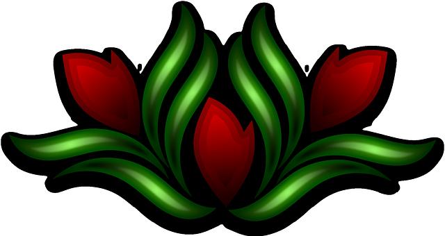 image vectorielle gratuite d coration fleur motif sauvage image gratuite sur pixabay 160977. Black Bedroom Furniture Sets. Home Design Ideas