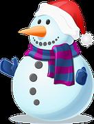 Snow, Snowman, Cold, Winter, Frozen