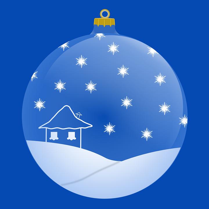 image vectorielle gratuite boule no l bleu boule de. Black Bedroom Furniture Sets. Home Design Ideas