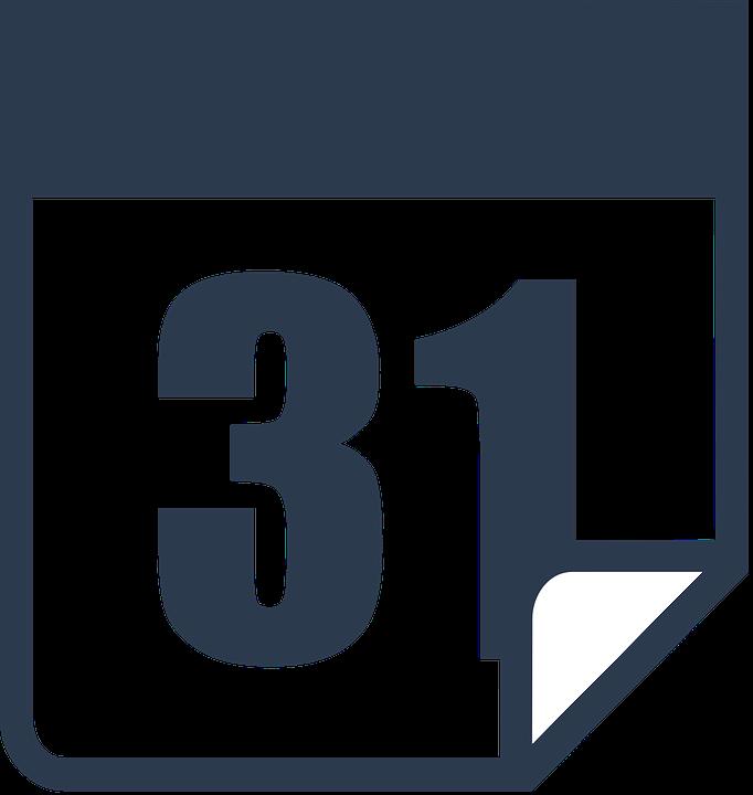 Calendar Day Vector Art : Free vector graphic calendar date day number