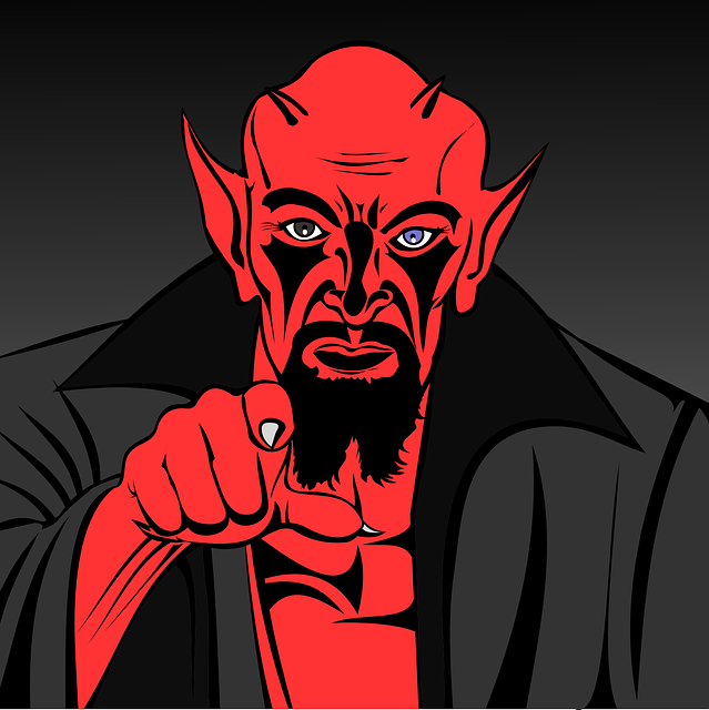 Free Vector Graphic: Demon, Devil, Hell, Inferno