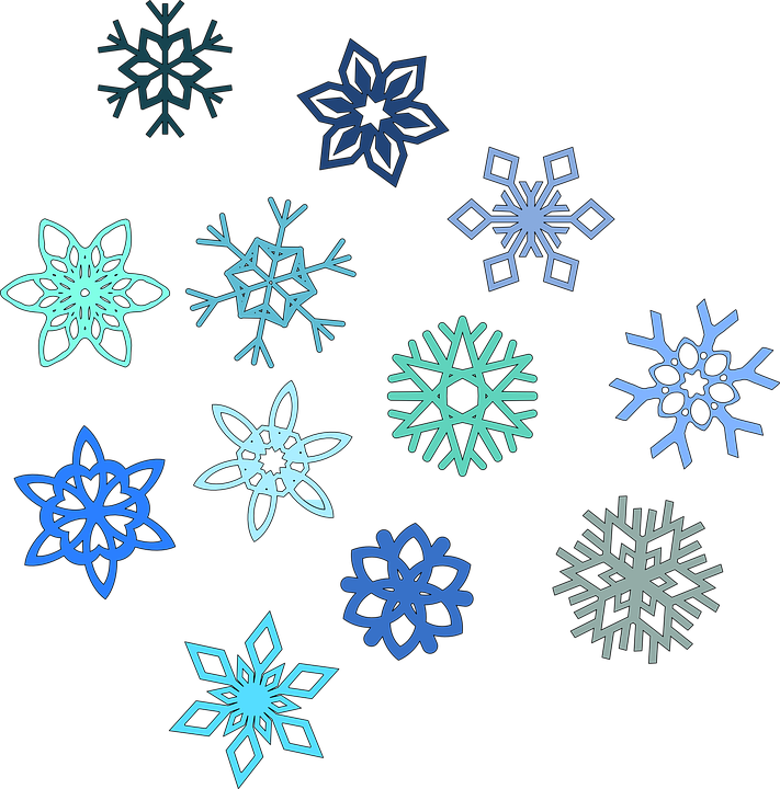 Free vector graphic: Snowflake, Hexagon, Snow, Winter - Free Image ...
