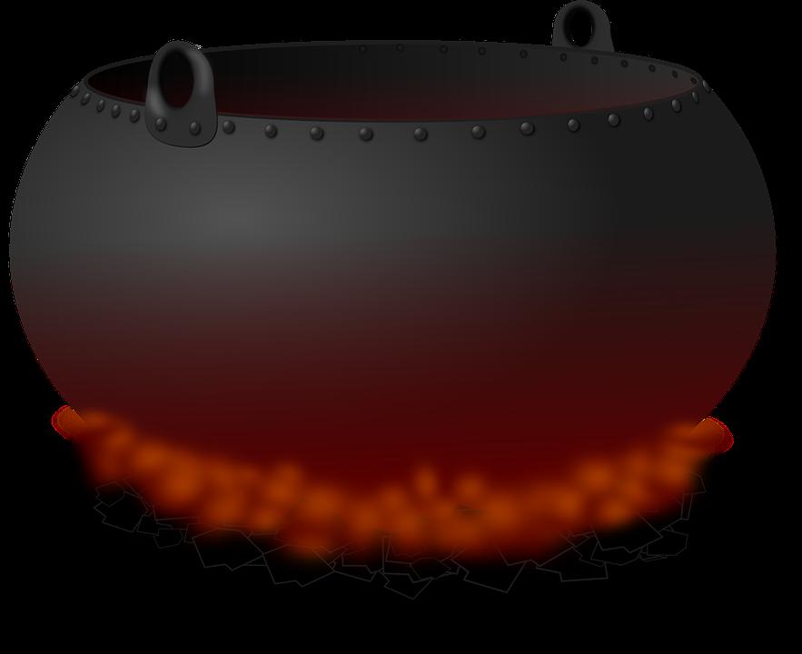 Kessel Topf Feuer · Kostenlose Vektorgrafik auf Pixabay