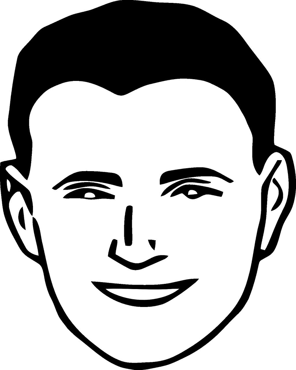 Прикольные нарисованные картинки лиц
